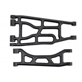 RPM Upper & Lower A-Arms (Black) for Traxxas X-Maxx