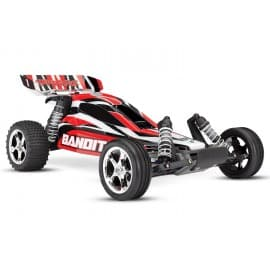Traxxas Bandit 1/10th 2WD Buggy With Battery And Charger Red