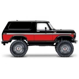 Traxxas TRX-4 1/10 Trail Crawler Truck w/'79 Ford Bronco Red