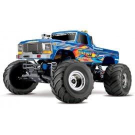 "Traxxas ""Bigfoot No.1"" Original Monster Truck RTR 1/10 2WD Monster Truck Retro Blue"