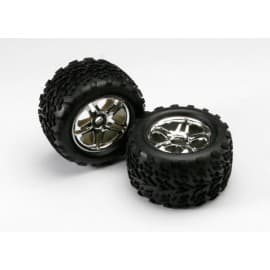 Traxxas Talon Tires and Wheels 17mm Hex