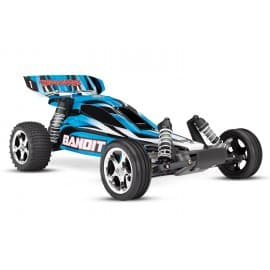 Traxxas Bandit 1/10th 2WD Buggy With Battery Charger Blue