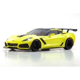 Kyosho Mini-Z RWD Corvette ZR1 Yellow W/LED