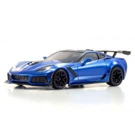 Kyosho Mini-Z RWD Corvette ZR1 Blue W/LED