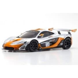 Kyosho Mini-Z RWD Mclaren P1 GTR Silver/Orange