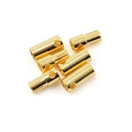 Castle Creations 5.5mm High Current Bullet Connector Set