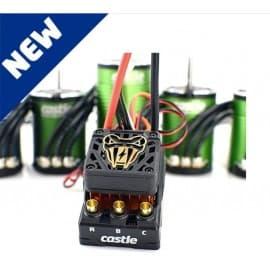 Castle Creations Copperhead 10 Waterproof 1/10 Sensored Combo w/1415 (2400Kv) (Monster Truck Edition)