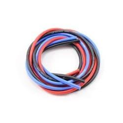 Novak 12awg Silicone Super-Flex Power Wire Set (Black/Red/Blue) (3')