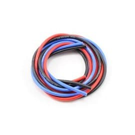 Novak 12awg Silicone Super-Flex Power Wire Set (Black/Red/Blue) (3')