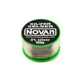Novak Lead-Free Silver Solder (100g)
