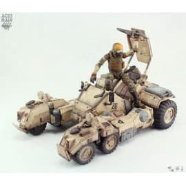 Acid Rain Sand Speeder Mark II Transforming Mecha Action Vehicle