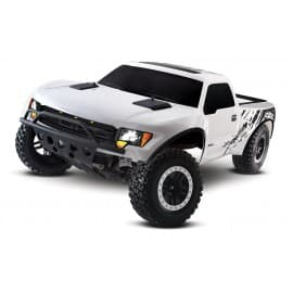 Traxxas Ford F-150 SVT Raptor RTR 1/10 2WD Truck White
