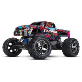 Traxxas Stampede VXL 1/10 RTR 2WD Monster Truck Courtney Force