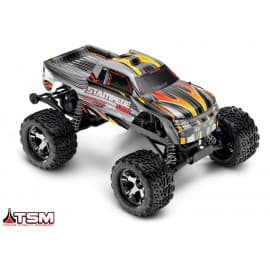 Traxxas Stampede VXL 1/10 RTR 2WD Monster Truck Silver