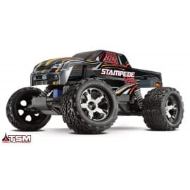 Traxxas Stampede 2WD VXL with TSM Monster Truck Black