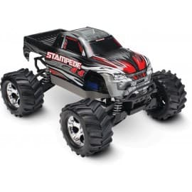 Traxxas Stampede 4x4 1/10 Scale 4WD Monster Truck Silver