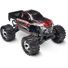 Traxxas Stampede 4x4 1/10 Scale 4WD Monster Truck Black
