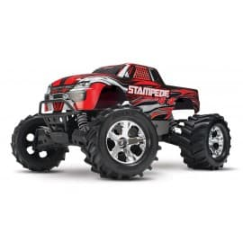 Traxxas Stampede 4x4 1/10 Scale 4WD Monster Truck Red