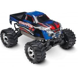Traxxas Stampede 4x4 1/10 Scale 4WD Monster Truck Blue