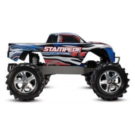 Traxxas Stampede 4x4 1/10 Scale 4WD Monster Truck Blue Traxxas - 1