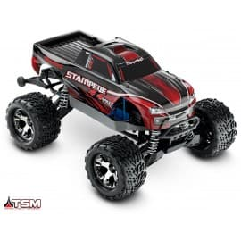 Traxxas Stampede 4x4 VXL 1/10 Scale 4WD Monster Truck Red Traxxas - 1