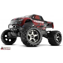 Traxxas Stampede 4x4 VXL 1/10 Scale 4WD Monster Truck Red