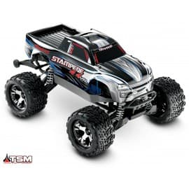 Traxxas Stampede 4x4 VXL 1/10 Scale 4WD Monster Truck Silver