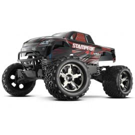 Traxxas Stampede 4x4 VXL 1/10 Scale 4WD Monster Truck Black
