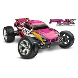 Traxxas Rustler 1/10 Scale 2WD Stadium Truck Pink