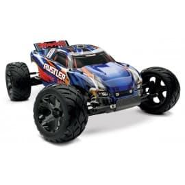 Traxxas Rustler VXL 1/10 Scale 2WD Stadium Truck Blue