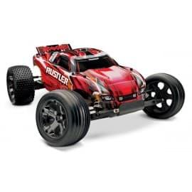 Traxxas Rustler 2WD VXL 2.4GHz TSM 1/10th RTR Stadium Truck Red