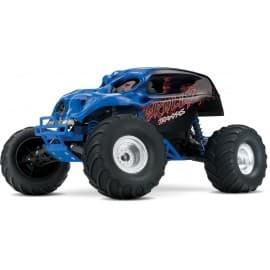 Traxxas Skully 1/10 Scale 2WD Monster Truck Blue