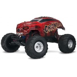 Traxxas Craniac 1/10 Scale 2WD Monster Truck Red