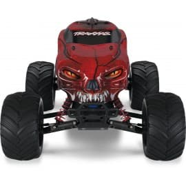 Traxxas Craniac 1/10 Scale 2WD Monster Truck Red Traxxas - 1