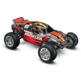 Traxxas Nitro Rustler 1/10 Scale 2WD Stadium Truck Red