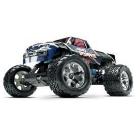 Traxxas Nitro Stampede 1/10 Scale 2WD Monster Truck Silver/Blue