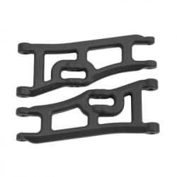 RPM Wide Front A-arms Traxxas e-Rustler & Stampede 2wd (Black)