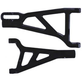 Front A-Arms Right Black Revo (2)