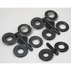 RPM Snap-Tite Body Savers 1/4″ or 6mm (Black)