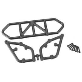 RPM Rear Bumper Traxxas Slash 2wd (Black)