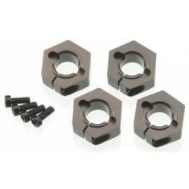 12mm Alum Hex Adapters Slash 4x4 SC10 4x4