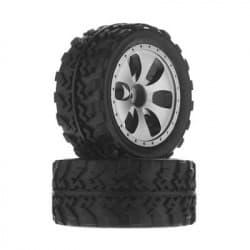 Dromida Wheel/Tire Assembled MT4.18