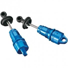 Aluminum Oil Shock Short Blue BX 4.18 (2)