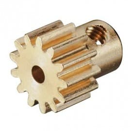 Pinion Gear 13T .6 Module 2mm Shaft