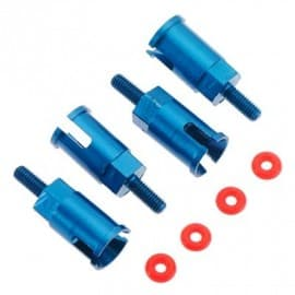 Aluminum Axle Set Blue BX MT SC 4.18 (4)