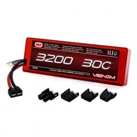 Venom 30C 3S 3200mAh 11.1V Hard Case LiPo Battery ROAR Approved with UNI Plug