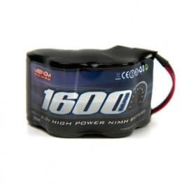 battery 6V 1600Mah hump receiver pack