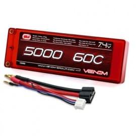 LiPo 2S 2P 7.4V 5000mAh 60C Hardcase ROAR Univ