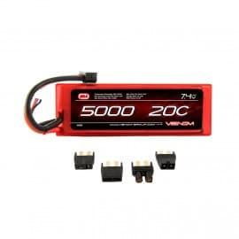 LiPo 2S 7.4V 5000mAh 20C Uni Plug System