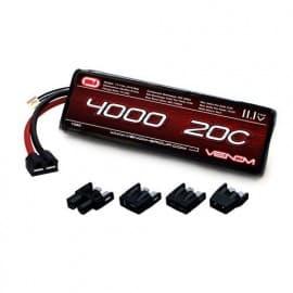 LiPo 3S 11.1V 4000mAh 20C Uni Plug System